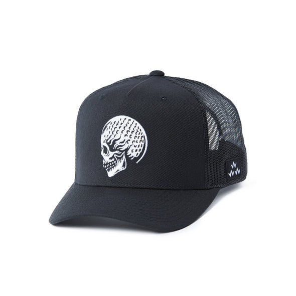 GreenRabbit Golf, Birds of Condor, Skulled Black, Cap - GreenRabbit Golf GOLFFASHION & LIFESTYLE