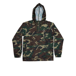 GreenRabbit Golf, Birds of Condor, Breezy light weight hooded windbreaker Camo, Jacket - GreenRabbit Golf GOLFFASHION & LIFESTYLE
