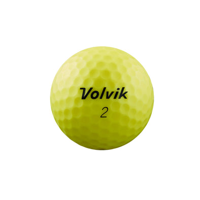 GreenRabbit Golf, Volvik, Volvik VIMAT Soft matt - Yellow, Balls - GreenRabbit Golf GOLFFASHION & LIFESTYLE