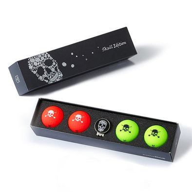 GreenRabbit Golf, Volvik, Volvik VIVID Skull Edition, Balls - GreenRabbit Golf GOLFFASHION & LIFESTYLE