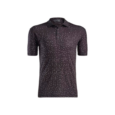 GRADIENT DOTS POLO ONYX