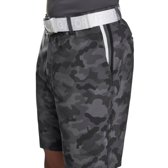 MAVERICK HYBRID SHORT CHARCOAL CAMO