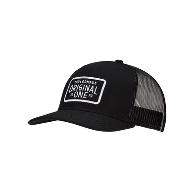 Original One Trucker Hat Black