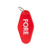 GreenRabbit Golf, Birds of Condor, Fore Keyring Red, Gift - GreenRabbit Golf GOLFFASHION & LIFESTYLE
