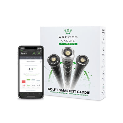 Arccos Caddie Smart Grips Golf Performance Tracking System
