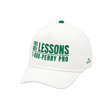 PERRY PRO Snapback Curvies White
