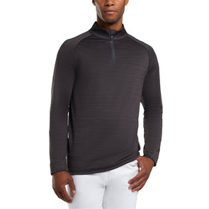 GreenRabbit Golf, G/Fore, Killer Perforated MID Heathered Tech Jersey With Mossed Interior Charcoal Heather Grey, Pullunder - GreenRabbit Golf GOLFFASHION & LIFESTYLE