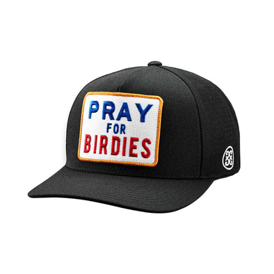 GreenRabbit Golf, G/Fore, Pray for Birdies Snapback Onyx, Cap - GreenRabbit Golf GOLFFASHION & LIFESTYLE