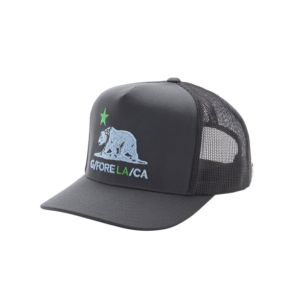 GreenRabbit Golf, G/Fore, California Trucker Charcoal, Cap - GreenRabbit Golf GOLFFASHION & LIFESTYLE