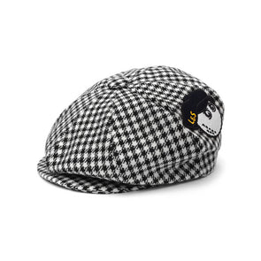 GreenRabbit Golf, Malbon by Lyle & Scott, Big Boy Cap Houndstooth, Cap - GreenRabbit Golf GOLFFASHION & LIFESTYLE