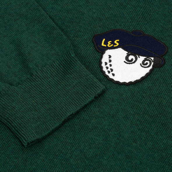 GreenRabbit Golf, Malbon by Lyle & Scott, Malbon x L&S Rollneck Sweater Jade Green, Sweater - GreenRabbit Golf GOLFFASHION & LIFESTYLE