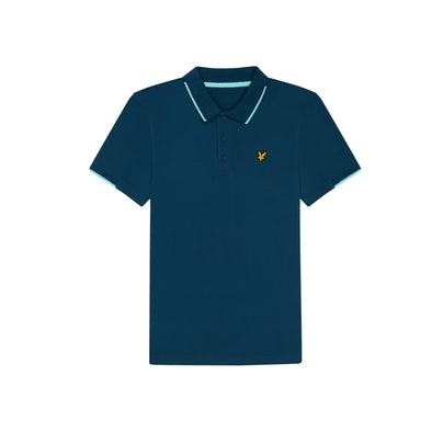 GreenRabbit Golf, Lyle & Scott, Andrew Polo Deep Fjord, Shirt - GreenRabbit Golf GOLFFASHION & LIFESTYLE