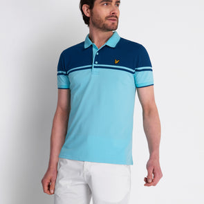GreenRabbit Golf, Lyle & Scott, Croft Polo Pale Marine, Shirt - GreenRabbit Golf GOLFFASHION & LIFESTYLE