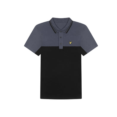GreenRabbit Golf, Lyle & Scott, Kendal Polo True Black, Shirt - GreenRabbit Golf GOLFFASHION & LIFESTYLE
