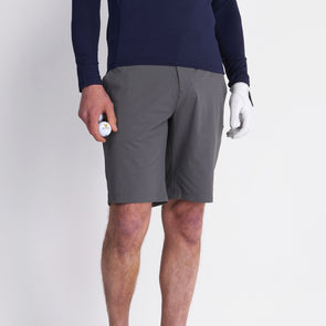 GreenRabbit Golf, Lyle & Scott, Tech Shorts Rock Grey, Shorts - GreenRabbit Golf GOLFFASHION & LIFESTYLE