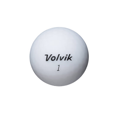 GreenRabbit Golf, Volvik, Volvik Vivid matt White, Balls - GreenRabbit Golf GOLFFASHION & LIFESTYLE