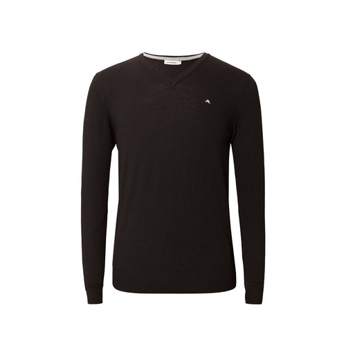 GreenRabbit Golf, J. Lindeberg, Lymann Tour Merino Black, Sweater - GreenRabbit Golf GOLFFASHION & LIFESTYLE
