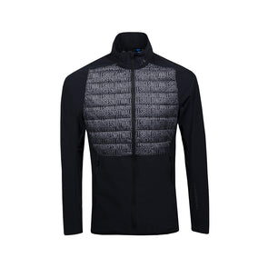 GreenRabbit Golf, J. Lindeberg, Hybrid Jacket Lux Softshell Building Bridges Print, Jacket - GreenRabbit Golf GOLFFASHION & LIFESTYLE