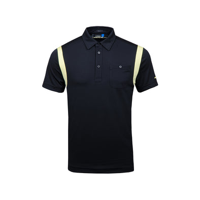 GreenRabbit Golf, J. Lindeberg, Dolph Slim TX Jersey Black, Shirt - GreenRabbit Golf GOLFFASHION & LIFESTYLE