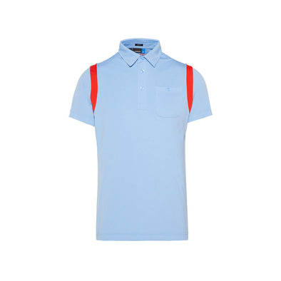 GreenRabbit Golf, J. Lindeberg, Dolph Slim TX Jersey JL Gentle Blue, Shirt - GreenRabbit Golf GOLFFASHION & LIFESTYLE