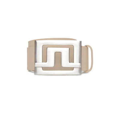 GreenRabbit Golf, J. Lindeberg, Slater 40 2.0 Brushed Leather Beige, Belt - GreenRabbit Golf GOLFFASHION & LIFESTYLE
