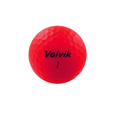 GreenRabbit Golf, Volvik, Volvik Vivid Ruby Red matt, Balls - GreenRabbit Golf GOLFFASHION & LIFESTYLE