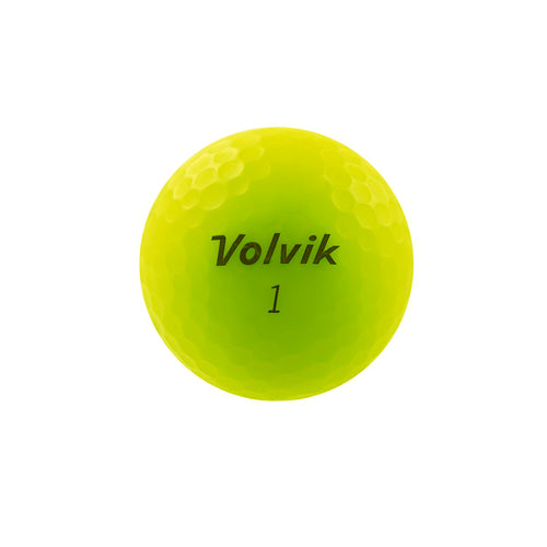 GreenRabbit Golf, Volvik, Volvik Vivid Gelb matt, Balls - GreenRabbit Golf GOLFFASHION & LIFESTYLE