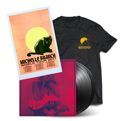 2017 Vinyl Tour Bundle #1 - Black Cat Tee
