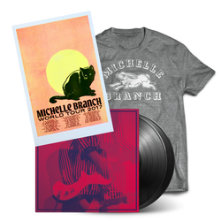 2017 Vinyl Tour Bundle #3 - Grey Rabbit Tee