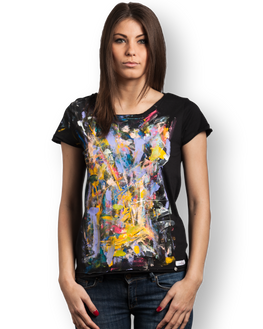 "Tricou femei ""Abstract"""