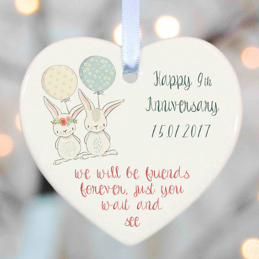 Personalised Wedding Gifts - 2 rabbits