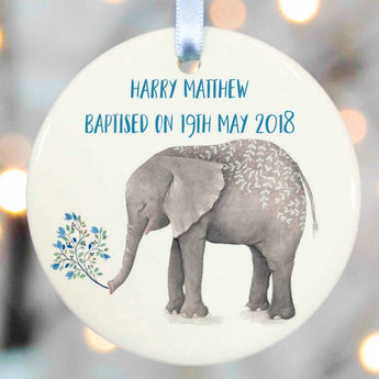 Christening Gift For Girls And Boys Ceramic elephant design