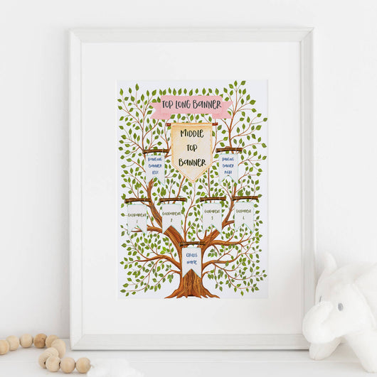 Gift For Godparents, Christening Tree