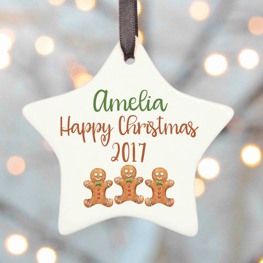 Gingerbread Men Christmas Decoration
