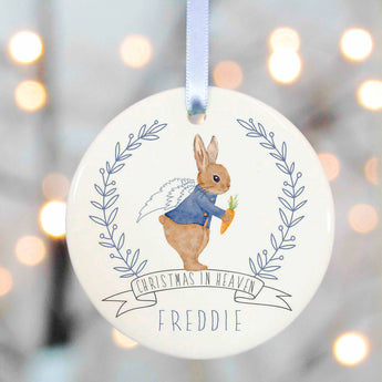 Memorial Christmas Decoration - rabbit