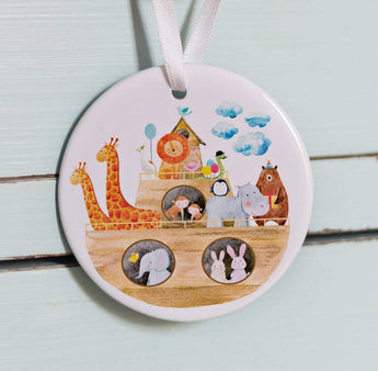 Noahs Ark Christening Gift - Double Sided