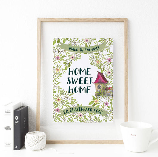 Personalised Housewarming Gift For A New Home