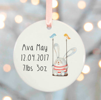 New Baby Girl Gifts - swinging