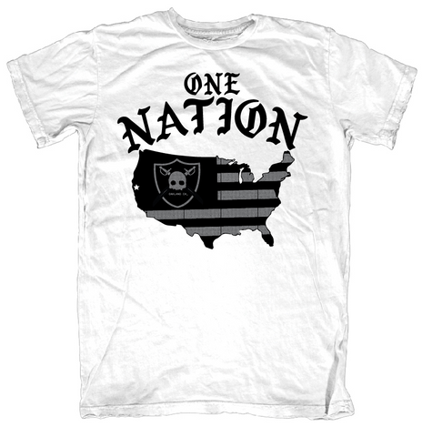 One Nation Tee - White