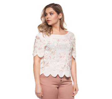 Floral Blouse-Dex Plus