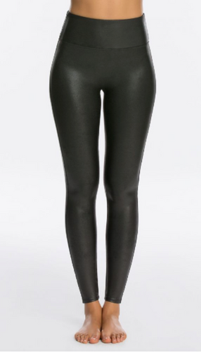 Faux Leather Legging Black-Spanx