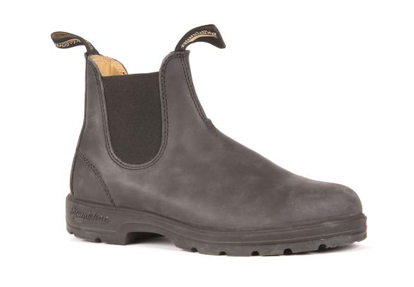Leather Lined in Rustic Black-Blundstone