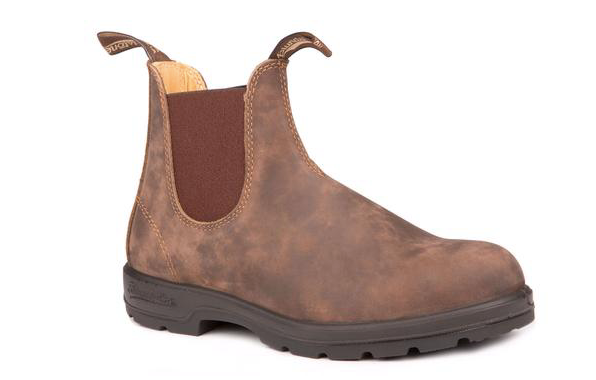 Leather Lined in Rustic Brown-Blundstone
