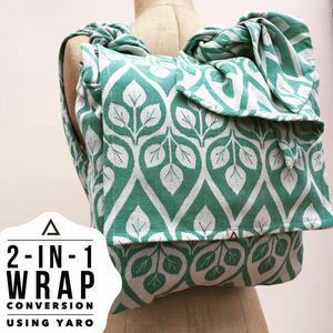 Nahla 2-in-1 Wrap Conversion Bag