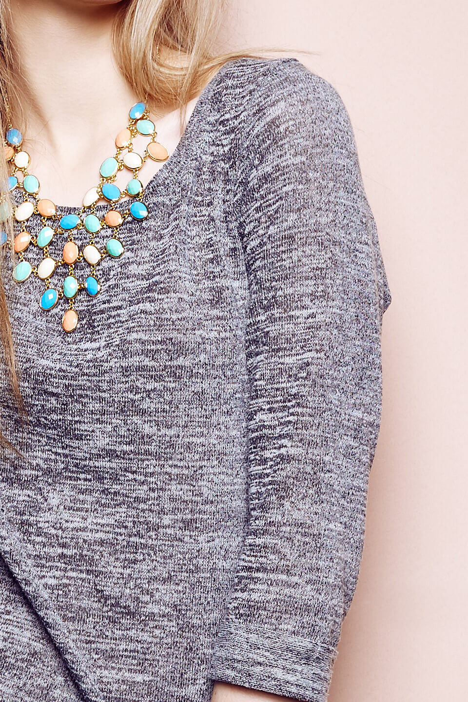 Marble Effect Sweater