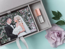 Linen Usb box for photo