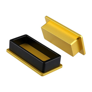 Rosin Pre-Press Molde - 2 x 4 inch Dourado.