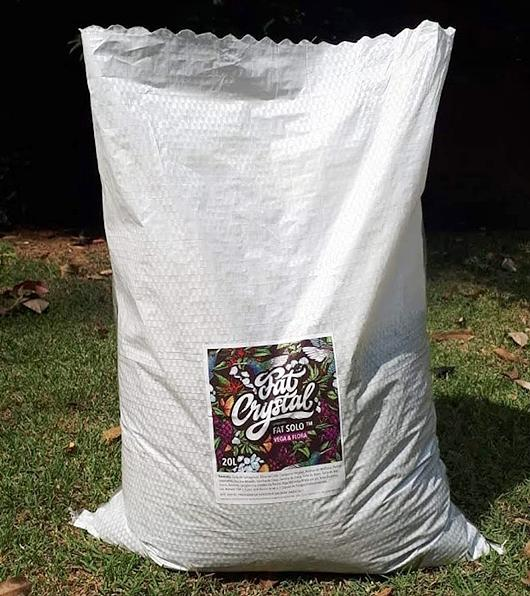 Fat Solo™ - Super Solo 100% Orgânico. Ideal pra Vega e Flora. Pronto para uso. Organic Living Soil.