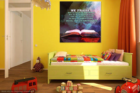Let Your Home Enjoy The Blessings of this \