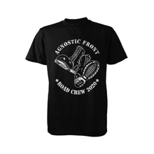 "Load image into Gallery viewer, Agnostic Front ""Support the Road Crew"" T-Shirt"